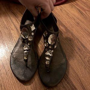 Reba McEntire sandals